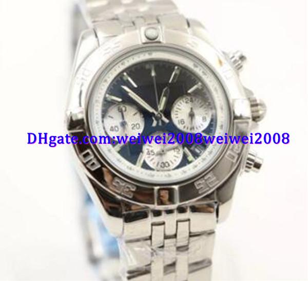 Роскошные часы 35 мм повседневная кварцевый хронограф chrono женские женские часы женские Наручные часы черный циферблат с окном даты