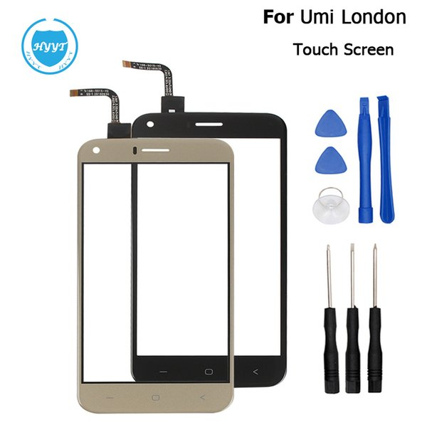 Wholesale- Umi London Original Sensor Touch Screen Perfect Repair Parts Touch Panel+Tools For Umi London 5.0 Inch Phone Free Shipping