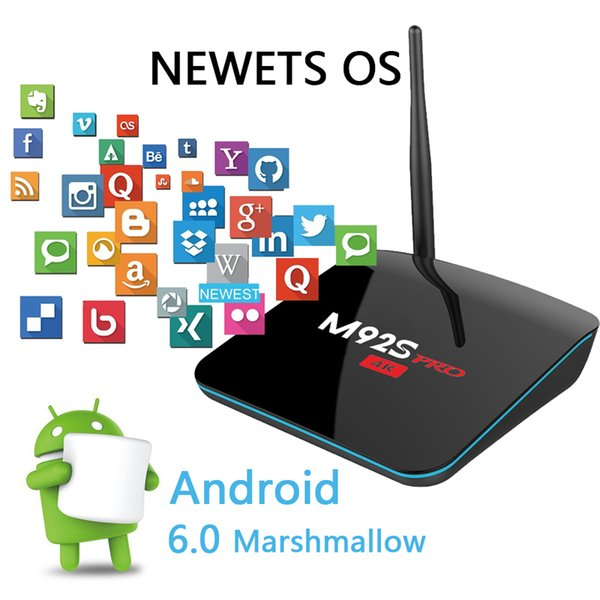 android ott tv box M92S pro 4k Amlogic S912 Octa core ram 2g 16g smart ott hdmi player media Boxes 2.4G/5G wifi dual band stick gaming