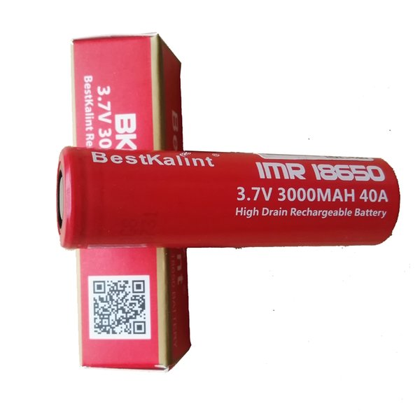18650 battery 3000mAh 40A 3.7v Lithium ion rechargeable battery electronic c for Snowwolf Kanger subox Mini kit Nano Kit Sigelei 100W TC