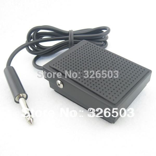 Wholesale-One Small Square Tattoo Foot Pedal Switch For Machine Gun Power Kit Set Supply TFS09