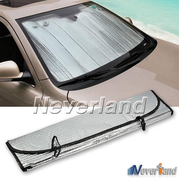 Universal Reflective Car Foglio di alluminio Parabrezza Parasole Finestra anteriore Parasole Parabrezza Parabrezza UV Protect D10