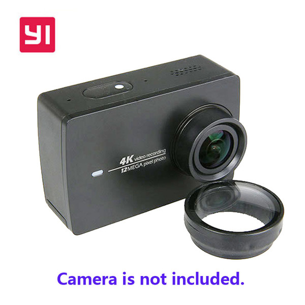 Wholesale-UV Filter For Xiaomi Yi 2 II Xiaoyi Sport Action Camera Lens Protector For Xiaomi YI 4K Action Camera Accessories Free Shipping!