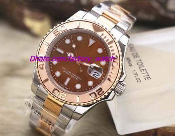 Luxus-Neuheiten 116621-78801 Edelstahl 18 k Rose Gold 40mm automatische Herrenuhr Herrenuhr Uhren