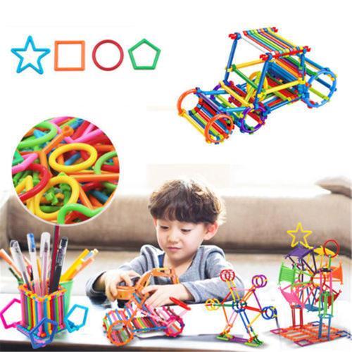 Nuevos juguetes educativos Building Blocks Toys Set Kids Develop Gifts Puzzle DIY Assemblage Fun para niños