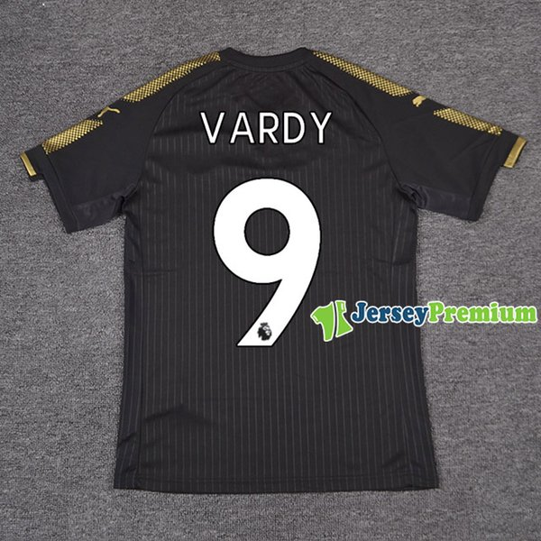 69a037fbf 2018 Leicester City Away Football Soccer Jerseys Black Shirts From ...