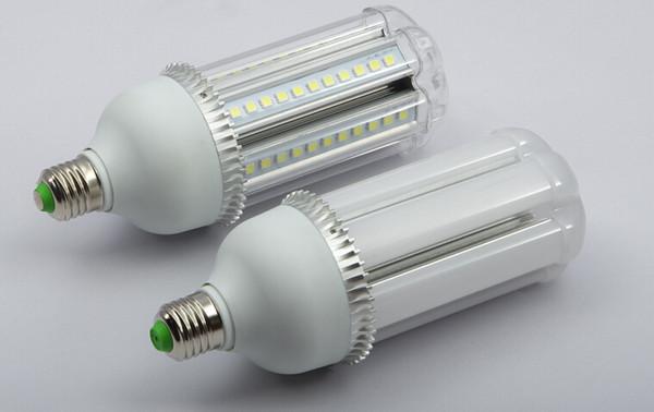 Spedizione gratuita DC24V E27 \ B22 18W LED Lampadina a mais bianco caldo colore bianco ad alta luminosità SMD5050 Sostituire 100w alogeno CE ROHS