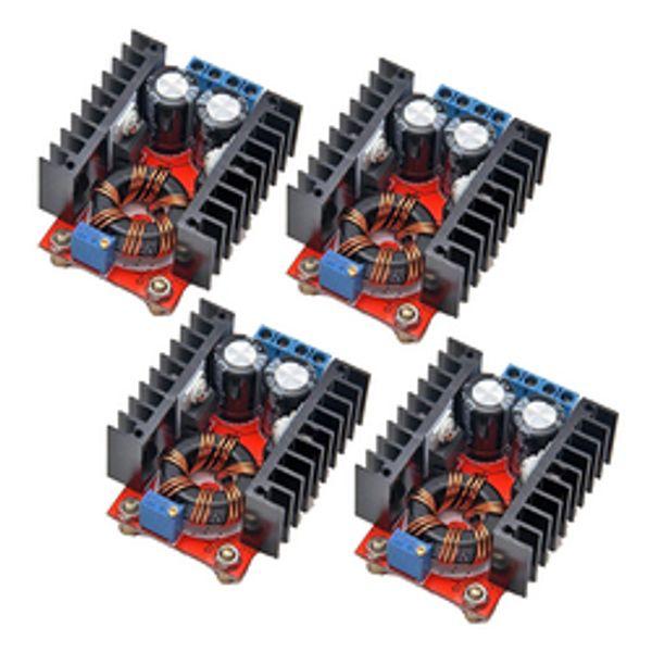 4 adet / grup 150 W DC-DC Boost Dönüştürücü Step Up Güç Kaynağı Modülü 10-32 V Için 12-35 V 10A Laptop Gerilim Şarj Kurulu Arduino Için
