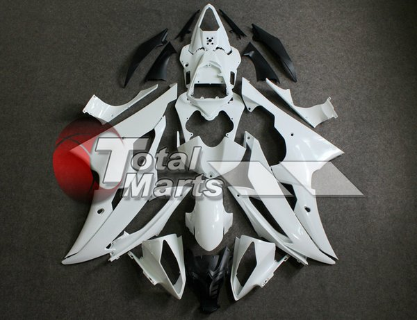 Fairings Yamaha YZF-R6 YZFR6 2008 2009 2010 2011 2012 2013 08-13 Injection BLUE FD3665 WHITE FD3692 SILVER FD3697