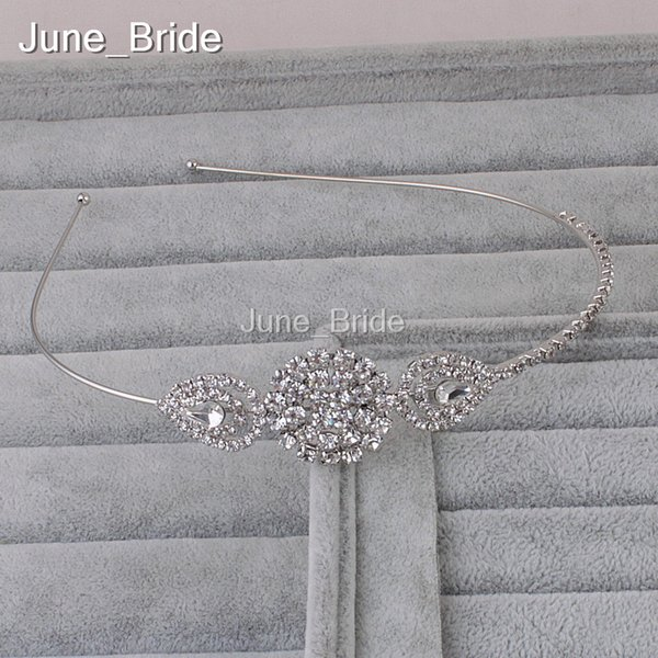 Elegant Crystal Rhinestone Bridal Hairband Free Shipping Wedding Birthday Party Headpieces Formal or Causual Headpieces Headband