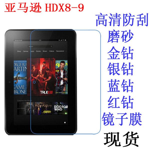 Wholesale-Clear Displayschutzfolie Anti-Fingerprint Soft Schutzfolie für Amazon Kindle Fire HDX 8.9