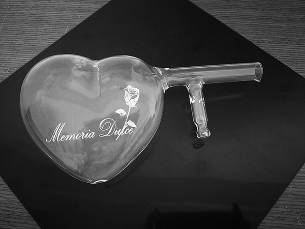 Glass Wine Decanter White Red wine aerator Heart shape Loving sign Party Club SetFree shipping Wine Glass Cup