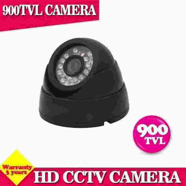 Mini Dome Cameras cctv camera 900tvl indoor camera home surveillance system 24 IR les day/night CMOS camera