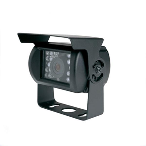 Cámara del coche impermeable IP66 1200TVL 18 LED de respaldo anti niebla cctv IR visión nocturna CCTV para camión autobús