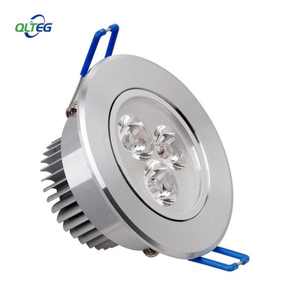 Großhandels-LED-Scheinwerfer 3W 6W dimmable LED vertiefter Kabinett-Wand-Scheinwerfer unten Deckenleuchte AC110V 220V kaltweiß für Hauptbeleuchtung