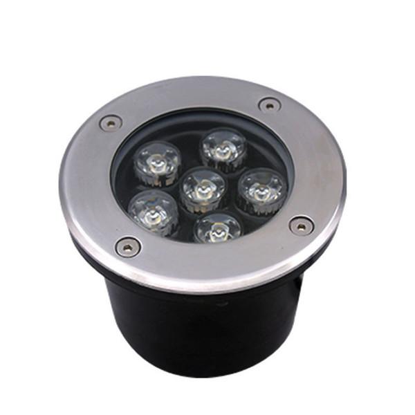 3W 5W 6W 9W 12W 18W 24W 50W светодиодный подземный свет водонепроницаемый белый/теплый белый/изменение цвета/RGB 86V-265V Ourdoor квадратный сад