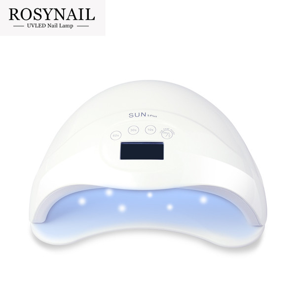 10pcs Wholesale 48W UV LED Lamp Nail Dryer SUN5 Nail Lamp With LCD Display Auto Sensor Manicure Machine for Curing UV Gel Polish