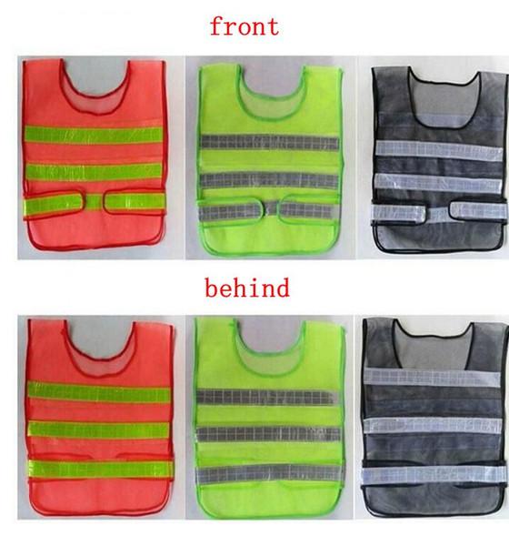 top popular Safety Clothing Reflective Vest Hollow grid vest high visibility Warning safety working Construction Traffic vest KKA1464 2020