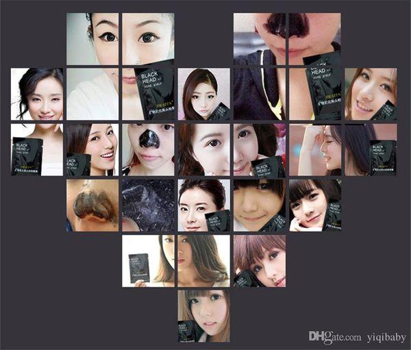 3000pcs PILATEN Facial Minerals Conk Nose Blackhead Remover Mask Facial Mask Nose Blackhead Cleaner 6g/pcsacial Mask Remove Black Head