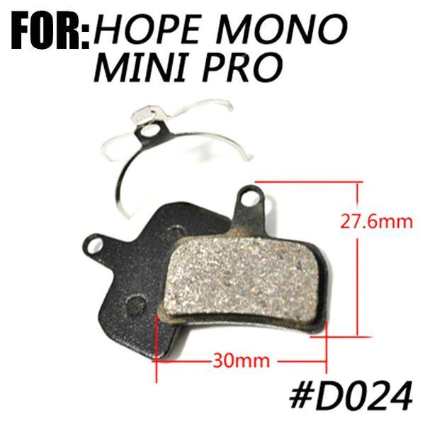 Metallic bicycle Disc Brake Pads For  HOPE MONO MINI PRO TWO PAIRS Semi