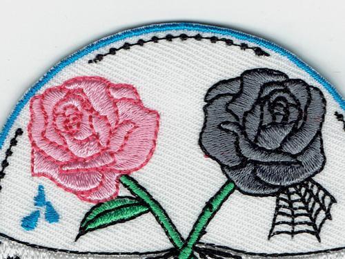 vente en gros fleur de rose de mode fille triste de fille mauvaise