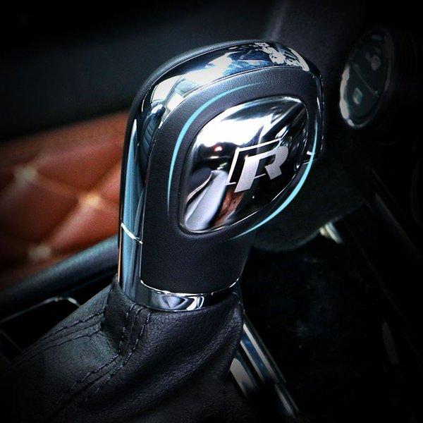 стайлинг автомобиля ручка переключения передач крышка головки редуктора наклейка для VW Volkswagen Golf 7 MK7 Golf 5 6 Passat B5 B6 B7 Polo CC Tiguan Jetta