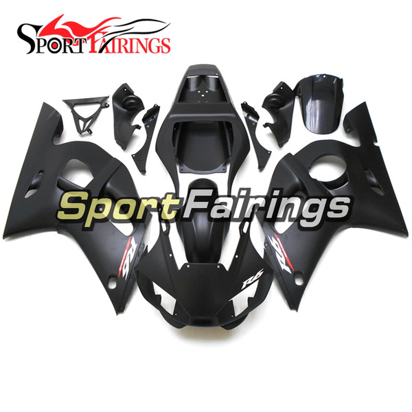 NEW Fairings For Yamaha YZF600 R6 YZF-R6 98-02 1998 1999 2000 2001 2002 Injection ABS Plastics Motorcycle Fairing Kit Matte Black Cowling