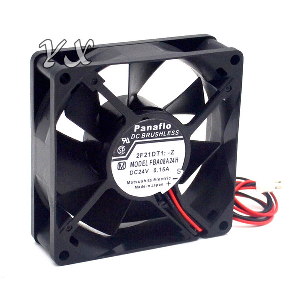 best selling New FBA08A24H 8CM 8025 24V 0.15A fan drive for panaflo 80*80*25mm