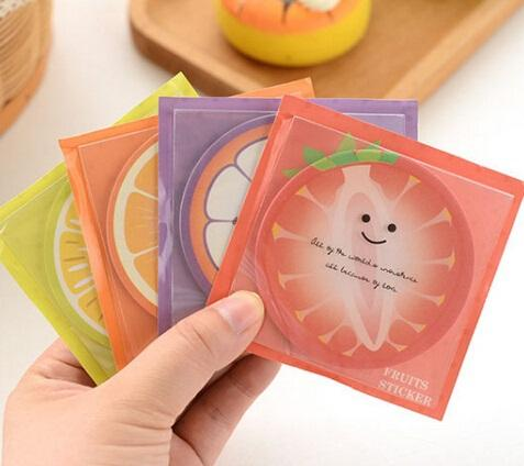 Wholesale- New Creative Fruits design Notepad/Sticky note/Note pads Memo/Memo Pads/Writing scratch pad