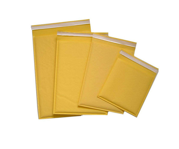 mini order: 50pcs Kraft Bubble Mailers Envelopes Wrap Bags Padded Envelope Mail Packing Pouch