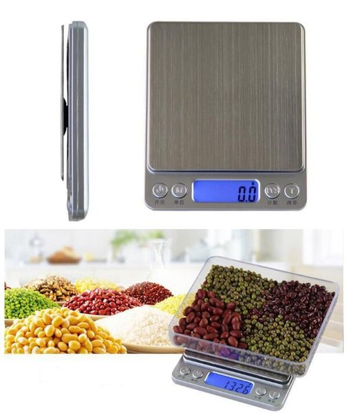 top popular 200g 500g 0.01g,3000g 0.1g Digital Pocket Scale Jewelry Weight Electronic Balance Scale g  oz  ct  gn Precision 2020