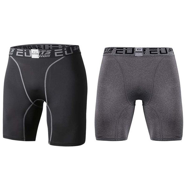 best selling Men's Compression Shorts Running Tights Base Layer fitness workout backing summer sports