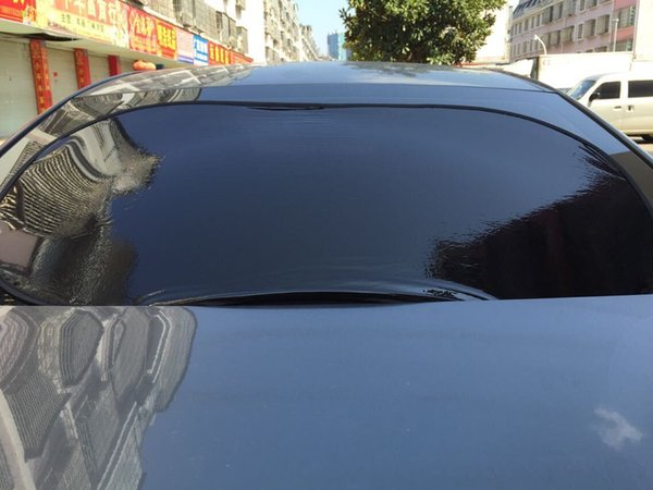 New sun shield without suction cup rear window sun insulation glass static stickers rear blocking 100