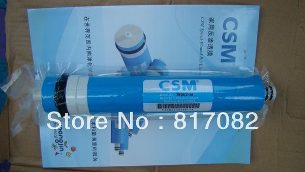 top popular On Sale CSM 50gpd Residential RO Membrane RE1812-50 Water Filter Water Purifier 2021