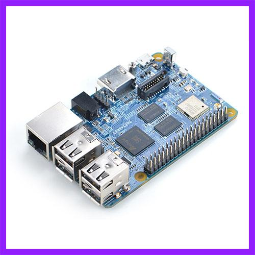 Diy Nanopi K2 Development Board S905 Performance Over Odroid C2 Gigabit  Ethernet Can 4k Playback High Running Frequency Components On A Motherboard