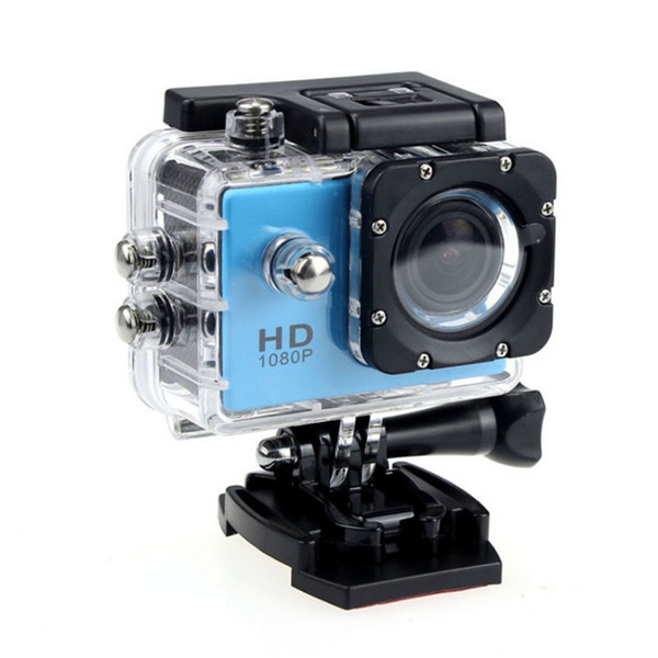 best selling SJ4000 2-inch LCD 720P Action Camera 30M Waterproof DV Camera Without TF Memory card Bicycle Helmet 10PC LOT