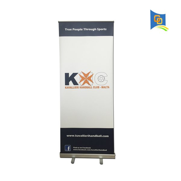 Directly Manufacture Economical Easy Change Retractable Roll Up Display Banner Stand with Graphic for Trade Show Advertising