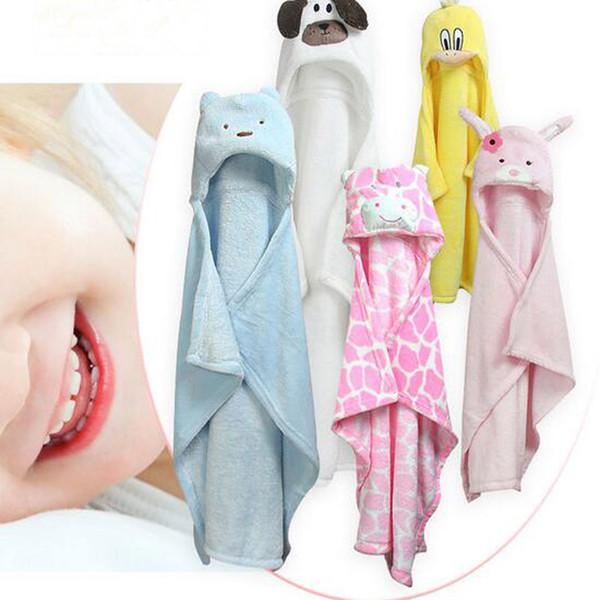 Baby Flannel Blankets Air Conditioning Knitting Blanket For Infant Bathing Towel Kids Nursery Bedding Cartoon Animal Washcloth Blanket