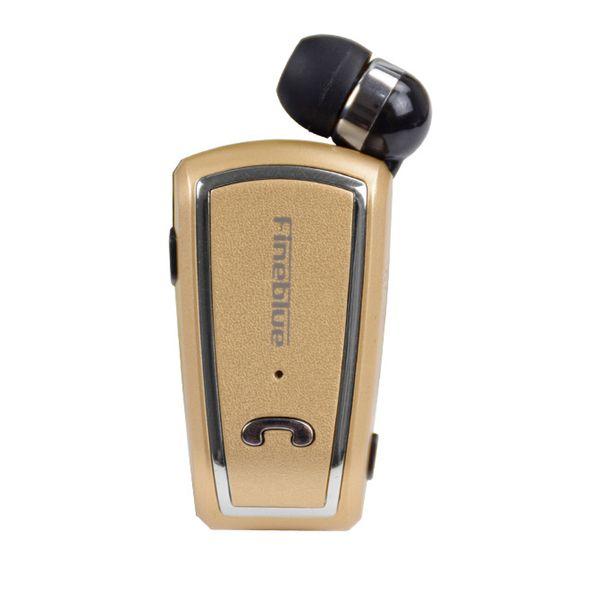 SıCAK ÜCRETSIZ DHL F-V3 Bluetooth Kulaklık Mini Kablosuz Sürücü Auriculares Stereo Geri Çekilebilir Klip Audifonos Koşu Kulaklık Spor Fone ...