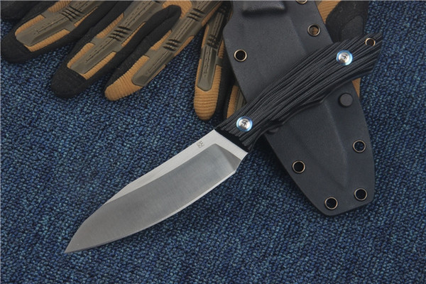 Russia Bear Head Straight Fixed Blade Knife D2 Blade G10 Handle Outdoor Camping Hunting Survival Pocket Military Utility EDC Tool Collection