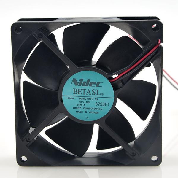 best selling NIDEC 0.20A D09A-12TU 03 9CM 9025 for Fuji inverter cooling fan