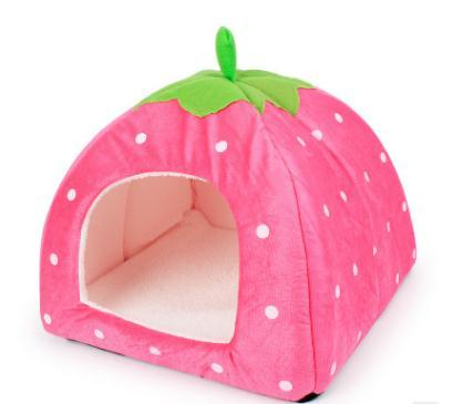 Lovely Puppy Cat Rabbit Guinea Pig Bed Kennel Nest Dog House cat House Foldable comfortable High Quality Pet House