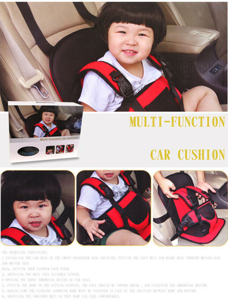 Child Toddler Auto Safety Seat Accessories Multifunctional infant car seat baby children car cushion Multi function Baby Car Seats Covers