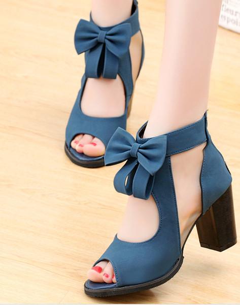 2017 neue Koreanische Spitze Mesh Kurze Stiefel Atmungsaktive frauen Schuhe hochhackigen Sandalen Studenten Bogen Fisch Mund Weibliche Sandalen