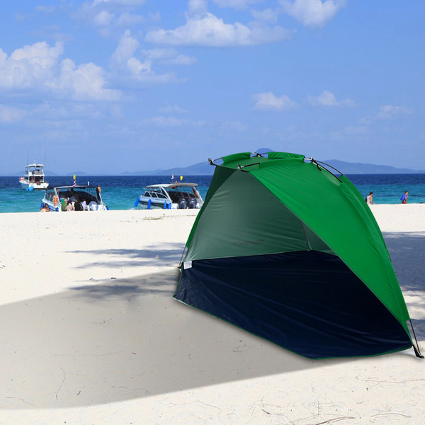 Tomshoo Outdoor Beach Tent Summer Uv Protection Portable Pop Up Beach Garden Tent Fishing Picnic Park Sunshade Tent