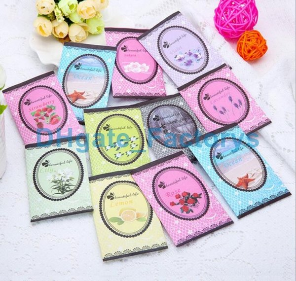 natural multi-functional air freshener sachet for homes car mini scent bag different fragrances free shipping wholesale price DHFTY-030