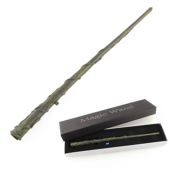 Wholesale- 2017 Hot Sale Hogwarts Hermione Granger LED Light UP Mediumistic Magic Wand Drop Shipping
