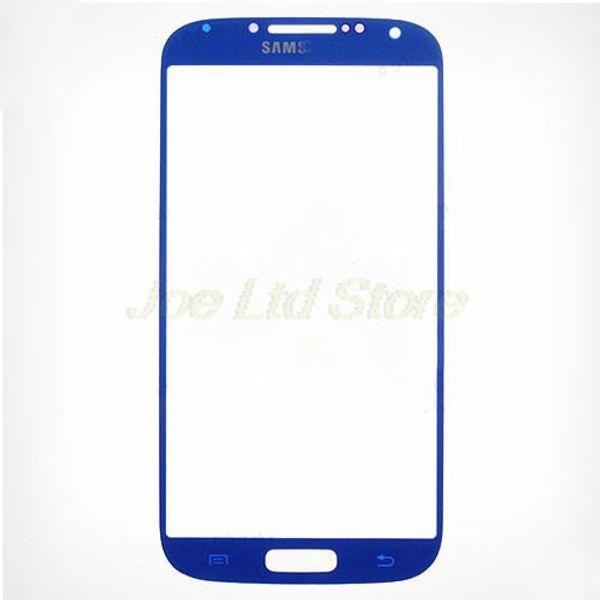 Cellulare Touch Panel Front Screen Cover per Samsung Galaxy S4 IV i9500 I9505 i337 M919 Lens vetro nero bianco