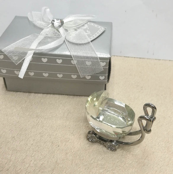 Ywbeyond Indian Crystal Baby Shower Return Gifts Crystal Baby Carriage Figurine Favors Newborn Baby Christening Gifts Canada 2019 From Zjbaddy Cad