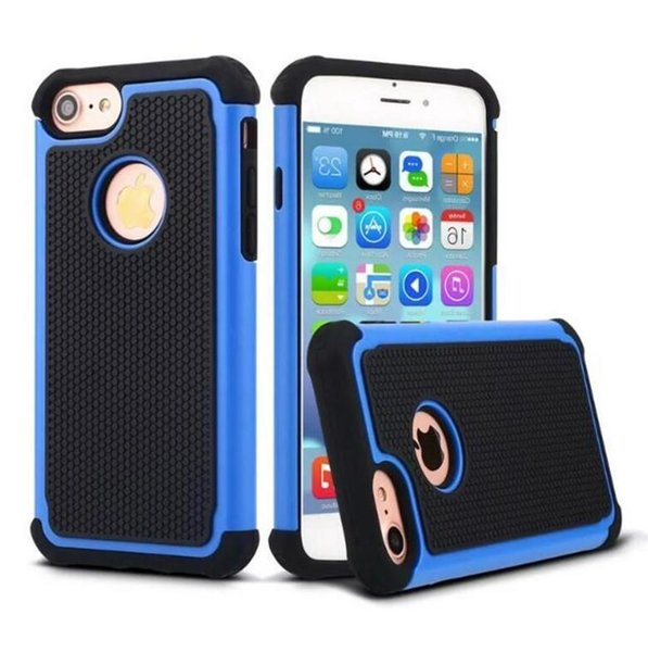 Hybrid Rugged Rubber Shockproof Hard Phone Cases Football Skin 2in1 anti-slip Protector Back Cover for Iphone 5 6 7 plus Samsung S6 S7 Edge